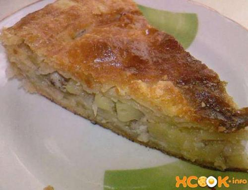 Татарский пирог кубете. Кубете с мясом курицы и картошкой - рецепт с фото приготовления татарского слоеного пирога