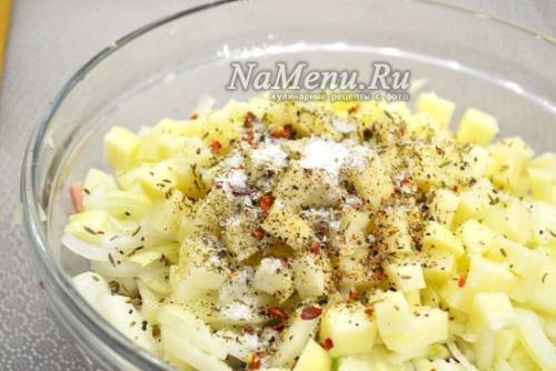 Пирог с картошкой и мясом татарский рецепт. Татарский пирог с мясом и картошкой