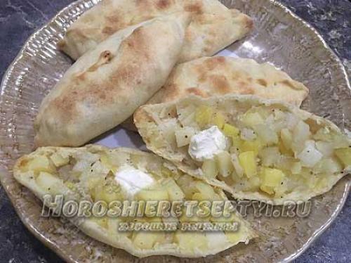 Татарские пирожки с капустой. Ингредиенты: