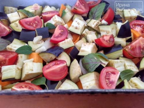 Рецепт курицы с баклажанами и помидорами в духовке. Вкуснейшая запеченная в духовке курица с баклажанами и помидорами