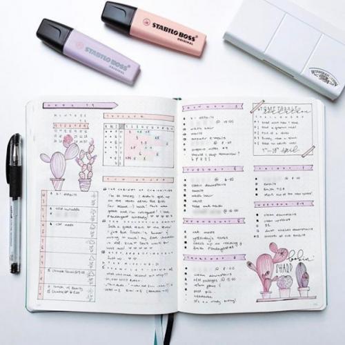 Bullet Journal коллекции. Что такое Bullet Journal и почему ты просто обязана его завести?