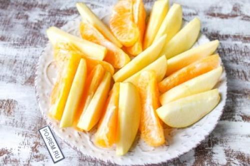 Утка с яблоками и апельсинами в духовке. Рецепт: утка с яблоками и апельсинами в духовке