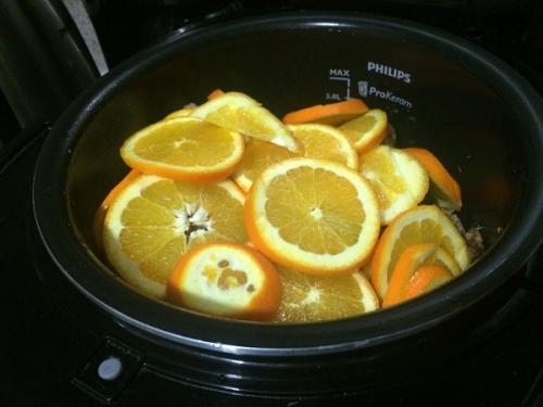 Утка с яблоками и апельсинами в мультиварке. Утка под апельсинами в мультиварке