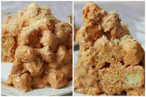 Десерт из кукурузных палочек рецепт. Торт из кукурузных палочек со сгущенкой