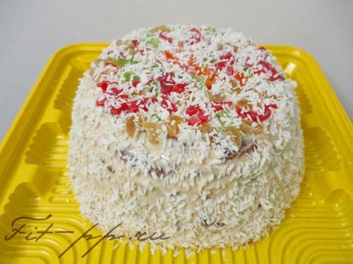 ШОКОЛАДНО-КОКОСОВЫЙ Торт пп. Торт «Кокосовый» для правильного питания