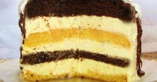 Торт с кремом из манки рецепт. Шедевр с лимоном и манным кремом