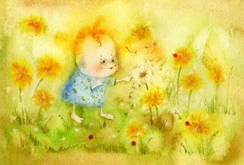 Желтый одуванчик стих. Стихи про одуванчики для детей