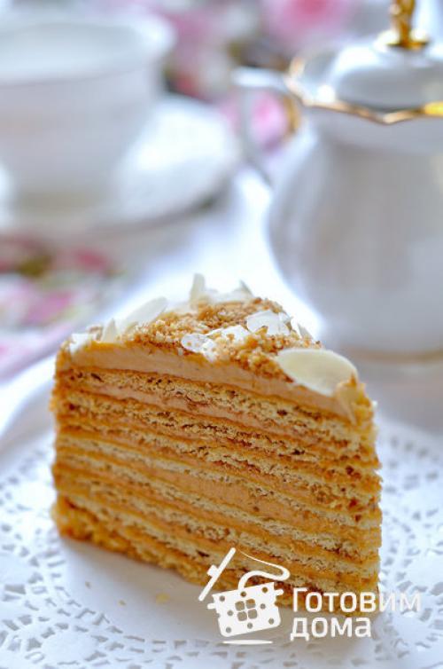 Торт медовый домашний. Видео приготовления
