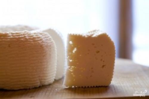Сыр из молока и уксуса. Домашний сыр из молока и уксуса