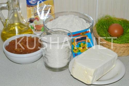 Рогалики песочные рецепт. Рогалики из песочного теста с повидлом. Пошаговый рецепт с фото