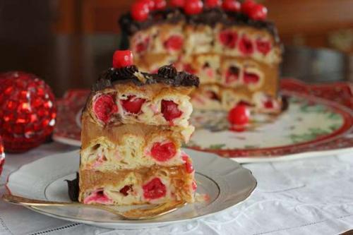 Рецепт пирога улитка с вишней на кефире. Как приготовить кефирдля пирога