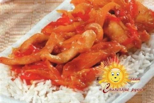 Курица по-тайски. Курица по-тайски, рецепт с овощами