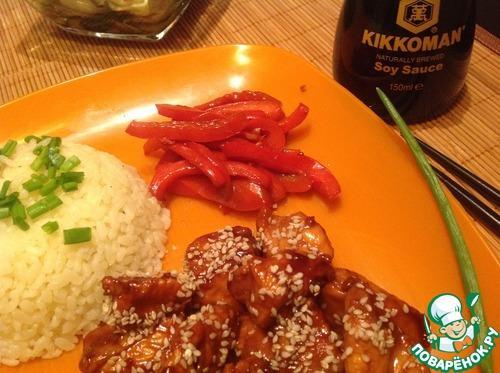 Курица по-тайский пошаговый рецепт с соевым соусом. Рецепт «Карамельная курица по-тайски»: