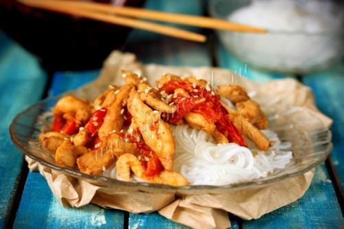 Курица по-тайски с грибами. Курица по-тайски. Пошаговый рецепт с фото