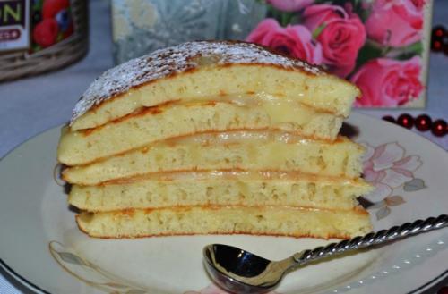 Рецепты тортов из жидкого теста. Быстрый торт из наливного теста «Пушинка»
