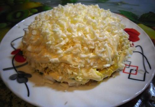 Салат невеста 6 пошаговых рецепов приготовления салата