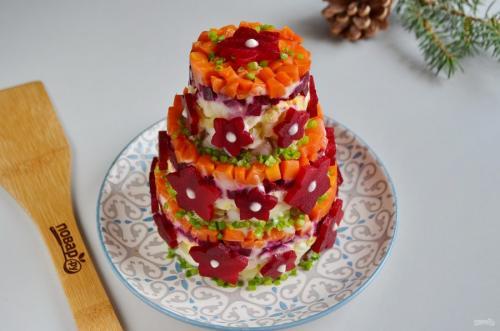 5 самых вкусных салатов.  Селедка под шубой