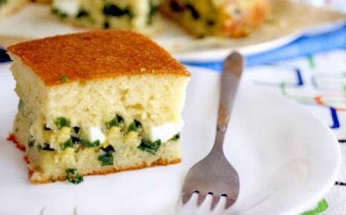 Заливной пирог с рисом и яйцом в мультиварке. Пирог с рисом и яйцом в мультиварке