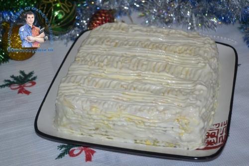 Салат Зимний свитер. Настоящее украшение новогоднего стола