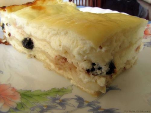 Пирог из лаваша с творогом (лазанья с творогом)