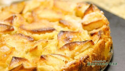 Пряный пирог с яблоками в мультиварке. Яблочный пирог в мультиварке