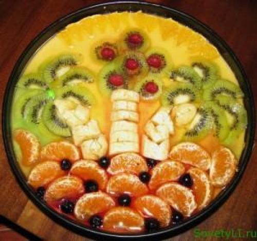 Торт с творожным суфле. Творожный торт-суфле «Фруктовая фантазия»