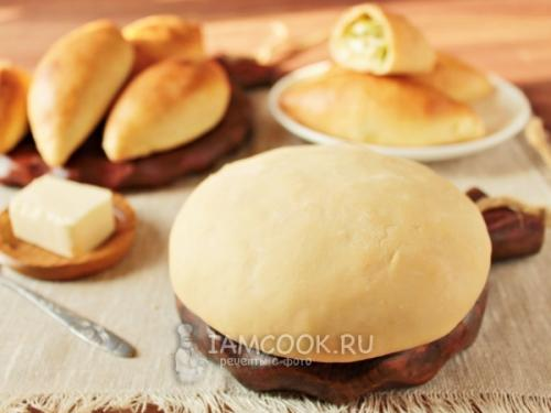 Тесто на кефире без дрожжей для пирогов. Пирожки на кефире без дрожжей в духовке