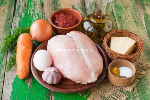 Митболы из курицы в томатном соусе. Куриные митболы с сыром в томатном соусе