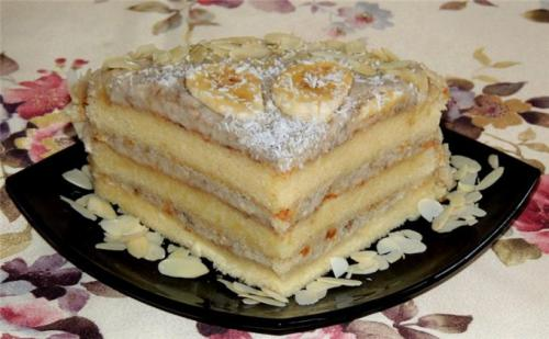 Крем банановый для торта. Совет 1: Банановый крем для бисквитного торта