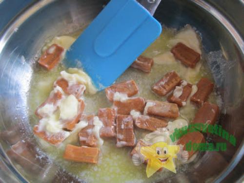 Десерт из кукурузных палочек и ирисок рецепт. Кукурузные палочки с ирисками – рецепт из детства