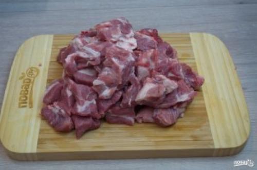 Рецепт приготовления шейки свиной. Свиная шея кусочками в духовке