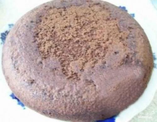Торт с кокосовой стружкой. Шоколадный торт с кокосовой стружкой