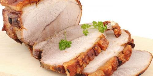 Буженина из свиной шейки в духовке.