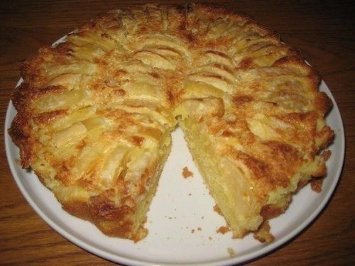 Обалденный яблочный пирог неженка.