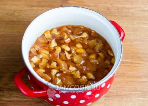 Обалденное яблочное варенье с апельсинами. Варенье из яблок с апельсином на зиму