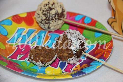 Шарики из кукурузных палочек для маленьких сладкоежек
