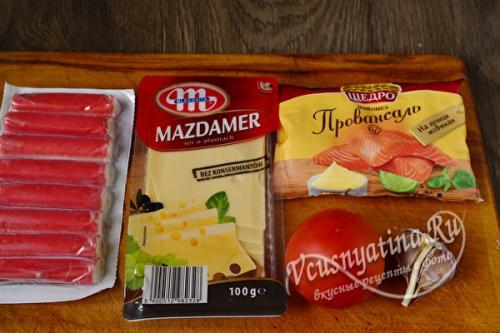 Салат из 3 продуктов. Вкусный салат всего из 3 продуктов