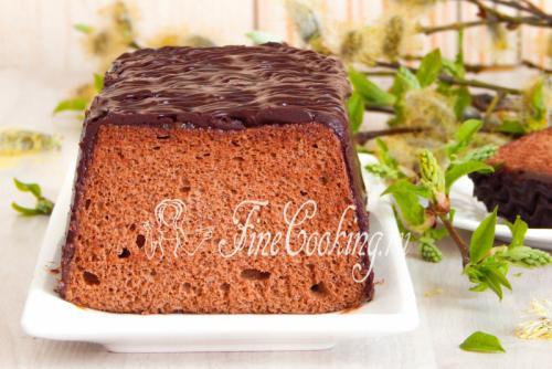 Шоколадный бисквит на белках