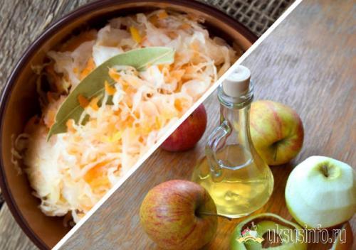 Капуста в горячем рассоле с уксусом и маслом. Быстрая капуста, маринованная горячим рассолом с уксусом и чесноком