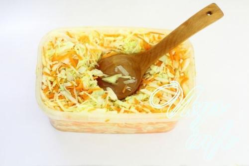 Капуста в горячем рассоле быстрого приготовления с чесноком. Быстрая капуста в горячем рассоле с чесноком