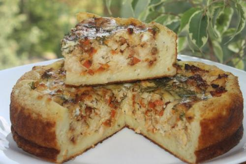 Быстрый пирог картошкой рецепты фото