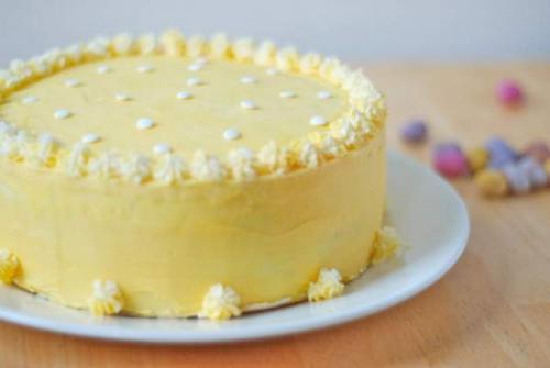 Лимонный мусс для торта. Лимонный торт - мусс.