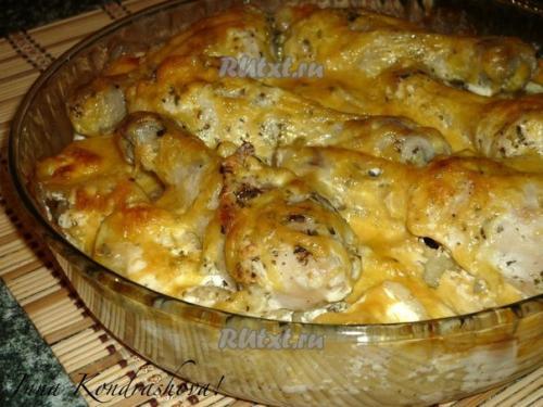 Как приготовить куриные ножки с картошкой в сковороде рецепт