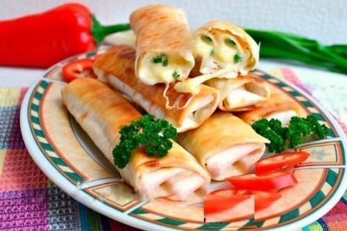 Лаваш, жареный с сыром, Шедевры кулинарии