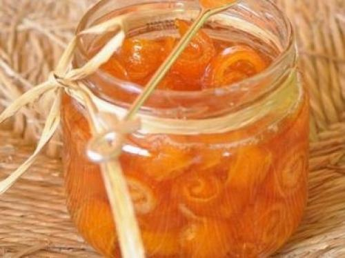 Варенье из кожуры апельсин