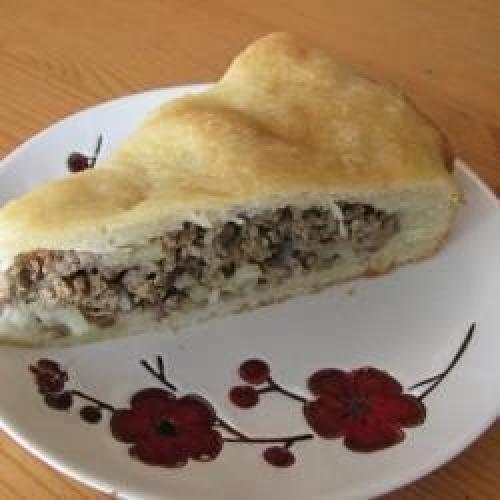 Пирог на кефире. Пирог нежный на кефире и майонезе.
