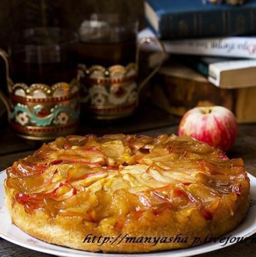 Пряный пирог. Пряный яблочный пирог.