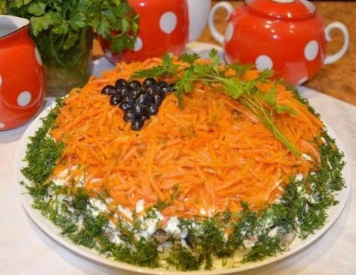 Топ 5 салатов на праздничный стол. Топ - 6 оригинальных салатов на праздничный стол