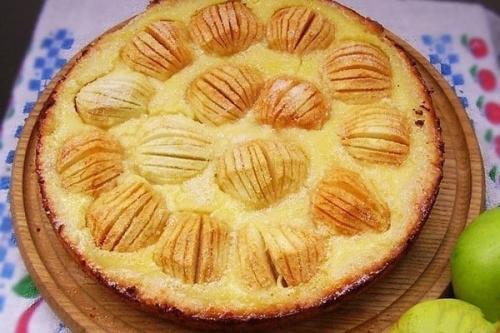 Обалденный яблочный пирог.