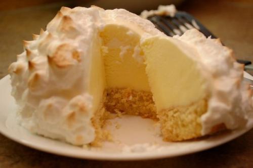 """Торт Аляска. Торт - мороженное """"Аляска""""."""